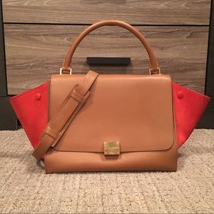 Celine medium trapeze handbag